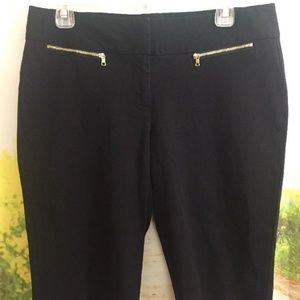 Alfani Size 8 Black Bermuda Walking Shorts